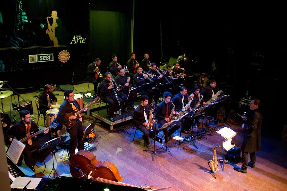 Resultado de imagem para SESI Big Band